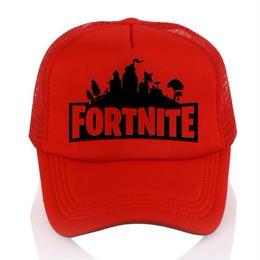 Fortnite 帽子 キャップ ダフトパンク 3dプリント 野球帽 ユニセックス メッシュ レッド