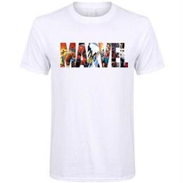 フォートナイト プリントTシャツ ユニセックス カジュアル半袖Tシャツ トップス  WhiteMAR1