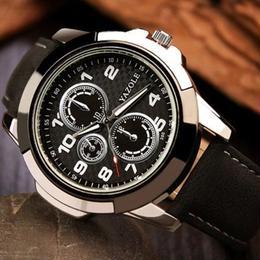 トップブランドメンズスポーツ腕時計 YAZOLE ルミナス ミリタリー腕時計 防水 フォーマル