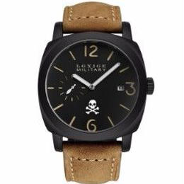 海外ブランド LGXIGE メンズ腕時計 レザーストラップ ミリタリー レトロ ファッション 2018年最新作 ギフト