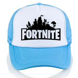Fortnite 帽子 キャップ ダフトパンク 3dプリント 野球帽 ユニセックス メッシュ スカイブルー