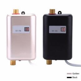 小型コンパクトサイズ 壁掛け式電気給湯器 洗面台所 キッチン 瞬間式温水器 タンクレス 暖房浴室トイレ 220V 3400W 16A