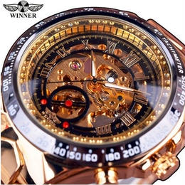【7色用意】高級デザイン メンズ腕時計 トップブランド 自動 スケルトン 海外インポート 機械式
