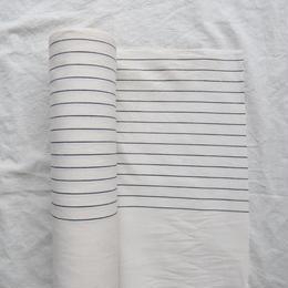 伊勢木綿  白×黒ストライプ