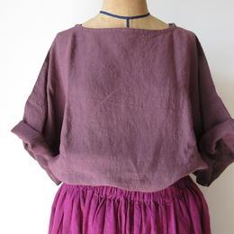 ボッスカットソー(赤紫) / yamma