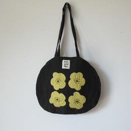 黄色い花のバッグ / pot and tea