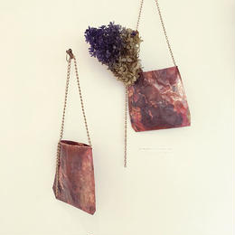 Pochette for dry flowers  (Copper)