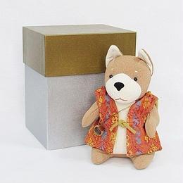 【新品・アウトレット】龍村謹製 經錦 メルレットの戌