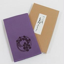 【新品・アウトレット】つづれ織 金封ふくさ(袱紗)化粧箱入/花丸萩☆紫(明るめ)