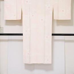 【長襦袢】正絹 袷 胴抜き 新品白半衿付き 居敷当付き ピンク暈かし☆157cm前後ベスト【美品】