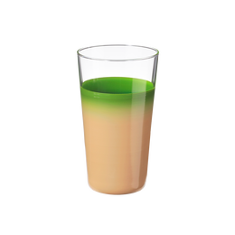 袷(awase)細身タンブラー 白緑