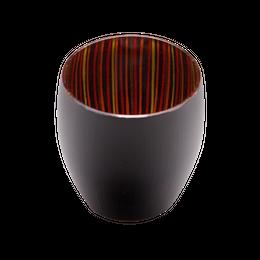 【受注生産】蕾(tsubomi)盃 黒赤