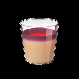 袷(awase)タンブラー 白紫
