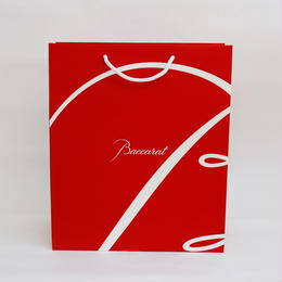 バカラ ブランド専用紙袋M(手提げ紙袋のみ注文不可)