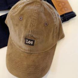 【Lee】ボックスロゴ キャップ  (BEIGE)