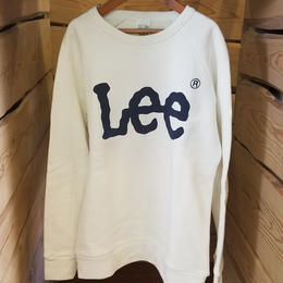 【Lee】ユニセックス トレーナー WHITE
