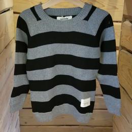 【cucciolo】セーター(BLACK)