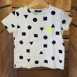 【Caldia】 総柄チビポケTシャツ (GLAY)