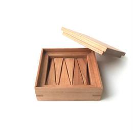 【若い衆シリーズ】 木の箸置きNo.2 チェリー 限定1箱  土田真之