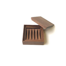 【若い衆シリーズ】 木の箸置き 限定1箱 土田真之
