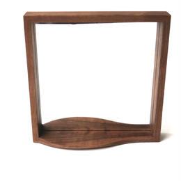 【 若い衆シリーズ】 wood mirror no.4 武内 舞子 限定1個
