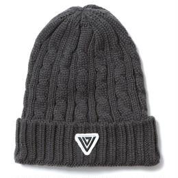 irie life -Vinyl Junkie- /vj logo knit cap