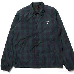 irie life vinyl junkie /logo coach jacket