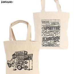KINGSIZE /sound carrier tote bag