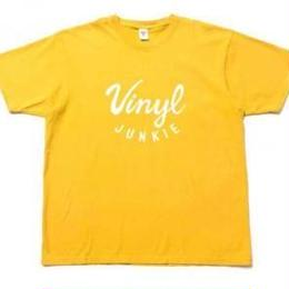 irie  life vinyl junkie /logo Tee