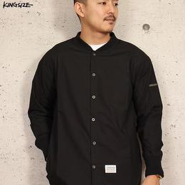 KINGSIZE /MA-1 style L/S shirt
