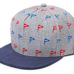 IRIE by irie life × 7 union /FLAG SNAP BACK CAP