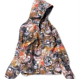 NINE RULAZ /speaker nylon jacket