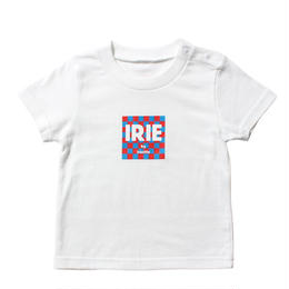 IRIE KIDS /checker flag logo KIDS Tee
