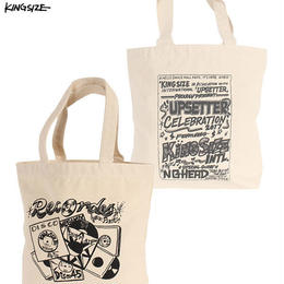 KINGSIZE /records tote bag