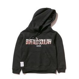 NINE RULAZ /kids buffalo souljah hoodie