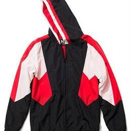 NINE RULAZ /chicago nylon zip hoodie