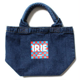 IRIE GIRL /checker fish mini tote bag