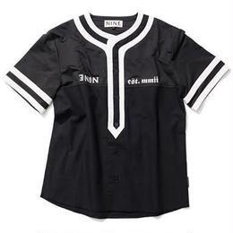 NINE RULAZ /notorious 9 baseball shirt