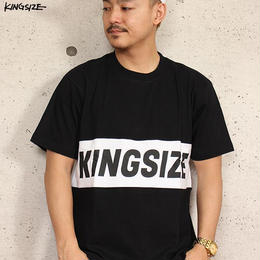 KINGSIZE /box logo switch Tee