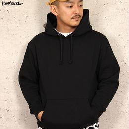 KINGSIZE /box logo rib hoodie