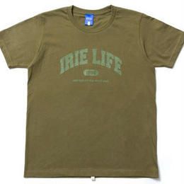 irie life /colledge logo Tee