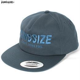KINGSIZE /bar logo 5panel cap