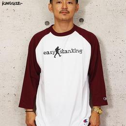 KINGSIZE × Champion /eazy skanking raglan