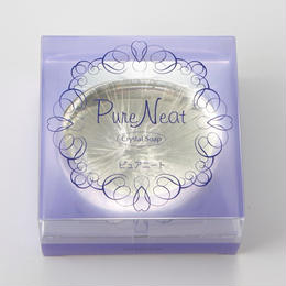 Pure Neat クリスタルソープ(洗顔ソープ)80g