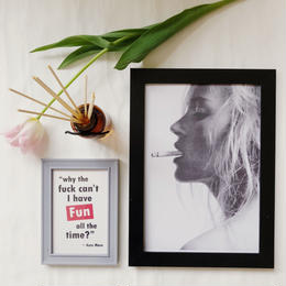 ケイトモスposter&postcard