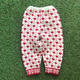 *JurianKinder*heart knit pants