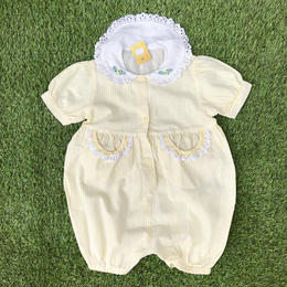 *JurianKinder*yellow summer kids rompers