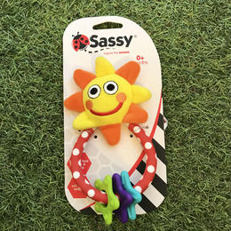 Sassy 「sun & stars rattle fun」(太陽)