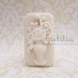 フラワーモールド 花瓶 F030