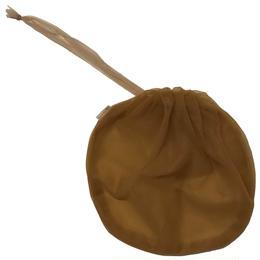 巾着big (brown)